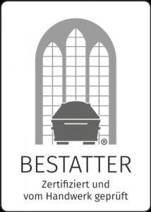 Bestatter Zertifiziert und vom Handwerk geprüft